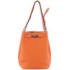 Hermes So Kelly Handbag Togo 22