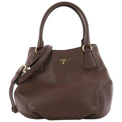 Prada Vitello Daino Medium Convertible Satchel