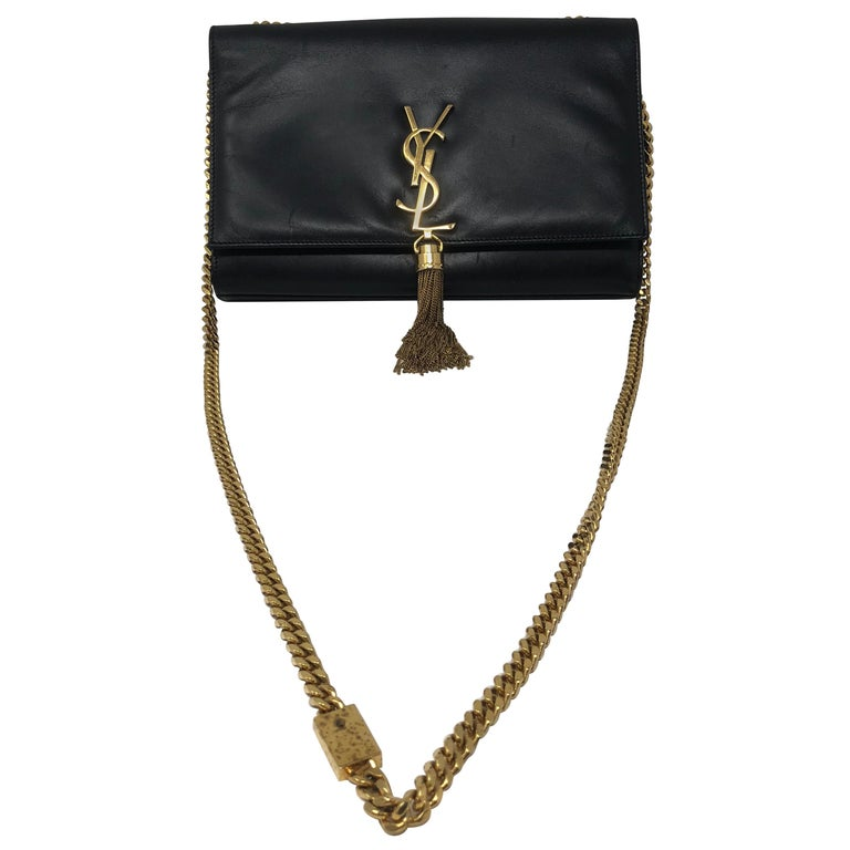 YSL Yves Saint Laurent Black Kate Bag