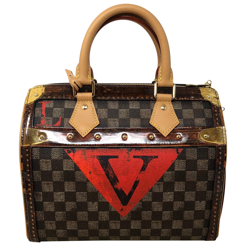 37b4d111b810 Louis Vuitton Time Trunk Speedy Noir 25 Bandouliere at 1stdibs
