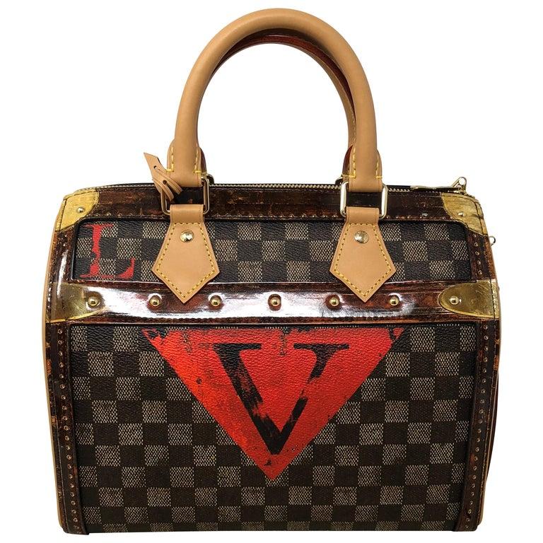 Louis Vuitton Time Trunk Speedy Noir 25 Bandouliere