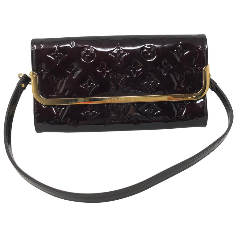 9792712f9e99 Louis Vuitton Vernis Clutch at 1stdibs