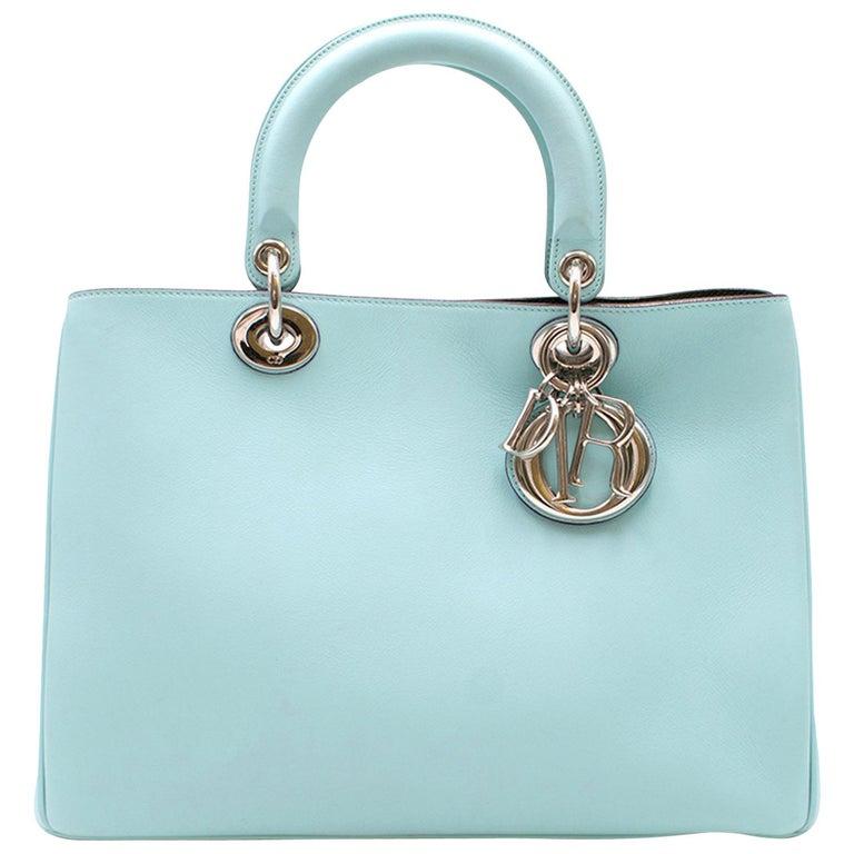 19a084e9f30 Dior Blue Diorissimo Bag For Sale at 1stdibs