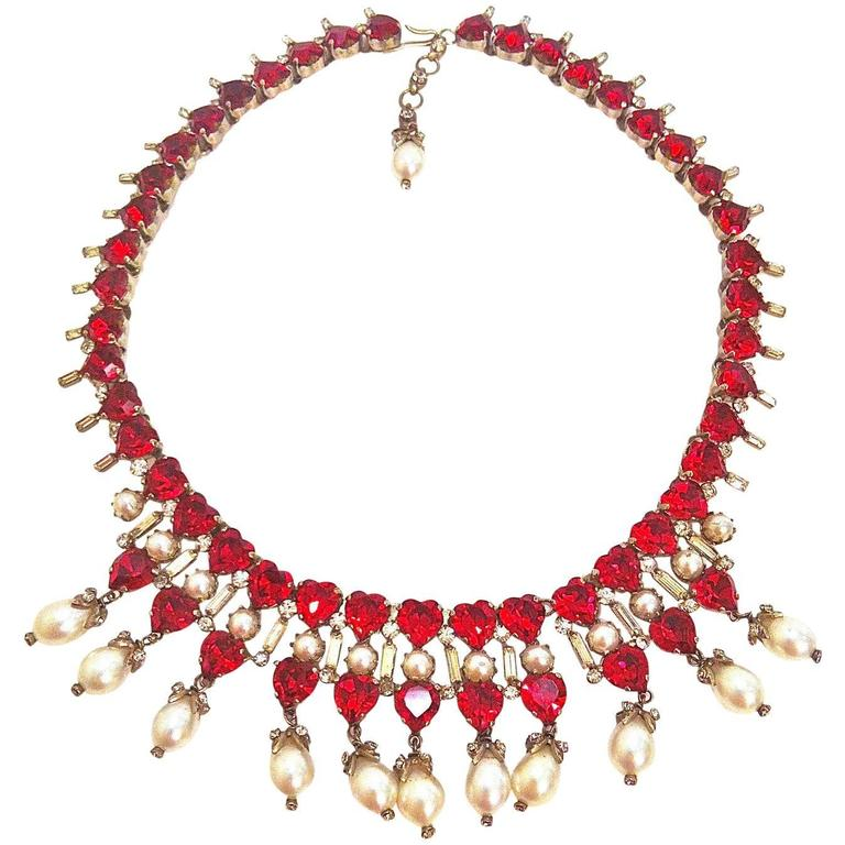1950s Roger Jean Pierre for Christian Dior Necklace 1