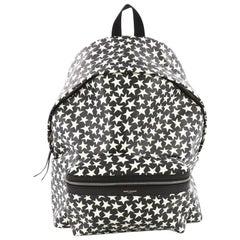 Saint Laurent City Backpack Printed Leather