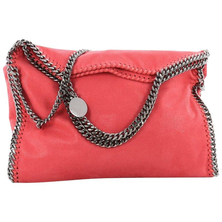 9a8b45992a Stella McCartney Falabella Fold Over Bag Shaggy Deer For Sale at 1stdibs