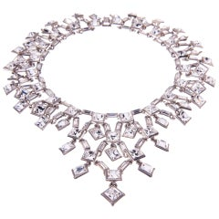 Simon Harrison Claudette Small Crystal Necklace