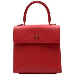 Charlotte Olympia Medium Red Bogart Bag