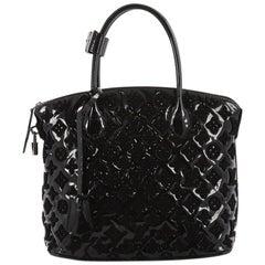 Louis Vuitton Fascination Lockit Handbag Patent Lambskin
