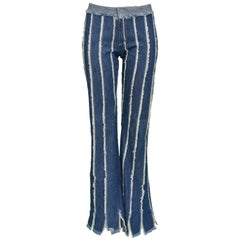 Jean Paul Gaultier Vintage Striped Jeans
