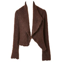 Hermès Mohair Knit Cardigan