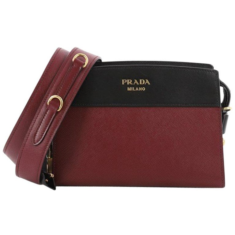 1926aa23a Prada Esplanade Crossbody Bag Saffiano Leather Small at 1stdibs