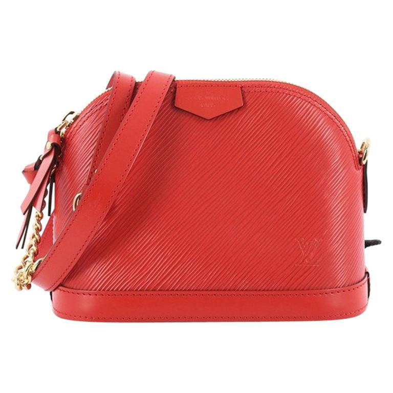 503af7d7b71 Louis Vuitton Alma Chain Handbag Epi Leather Mini For Sale at 1stdibs