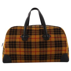 Hermes Galop Duffle Bag Multicolor Wool 50