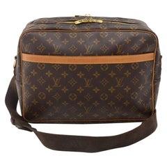 Vintage Louis Vuitton Reporter GM Monogram Canvas Shoulder Bag