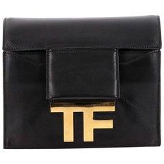 Tom Ford Hidden TF Shoulder Bag Leather Small