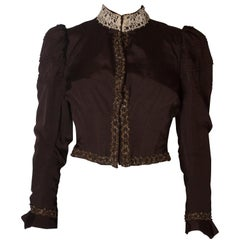Grosgrain Vintage Boned Jacket