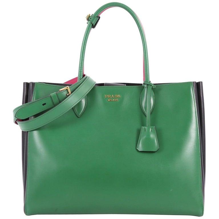 b7d5a03917ee Prada Soft Bibliotheque Handbag City Calfskin Large at 1stdibs