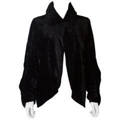 Silk Velvet Vintage Jacket