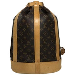 Louis Vuitton Monogram Randonnee PM Bucket Shoulder Handbag