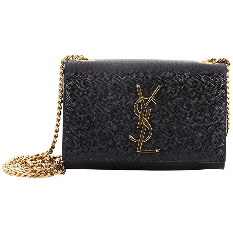 Saint Laurent Classic Monogram Crossbody Bag Grainy Leather Small For Sale 6fe292cabe511
