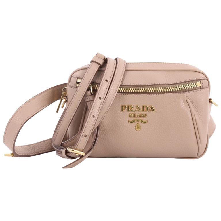 22bc10d67ae5 Prada Convertible Belt Bag Vitello Daino Small at 1stdibs