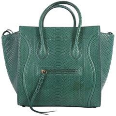 Celine Phantom Handbag Python Medium by Phoebe Philo