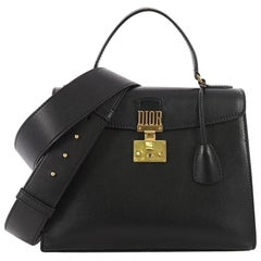 Christian Dior Dioraddict Top Handle Bag Leather Medium
