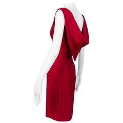 Convertible Draped Scarf-Back Sheath Dress, 1960s