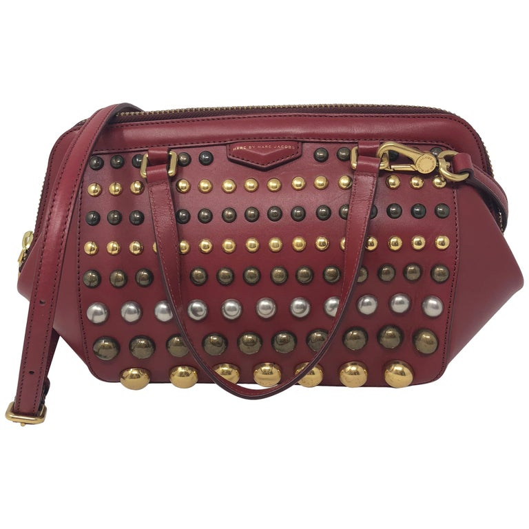 Marc Jacobs Studded Red Bag