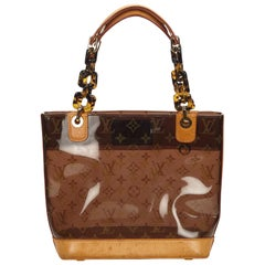 Louis Vuitton Brown Monogram Cabas Sac Ambre PM Bag