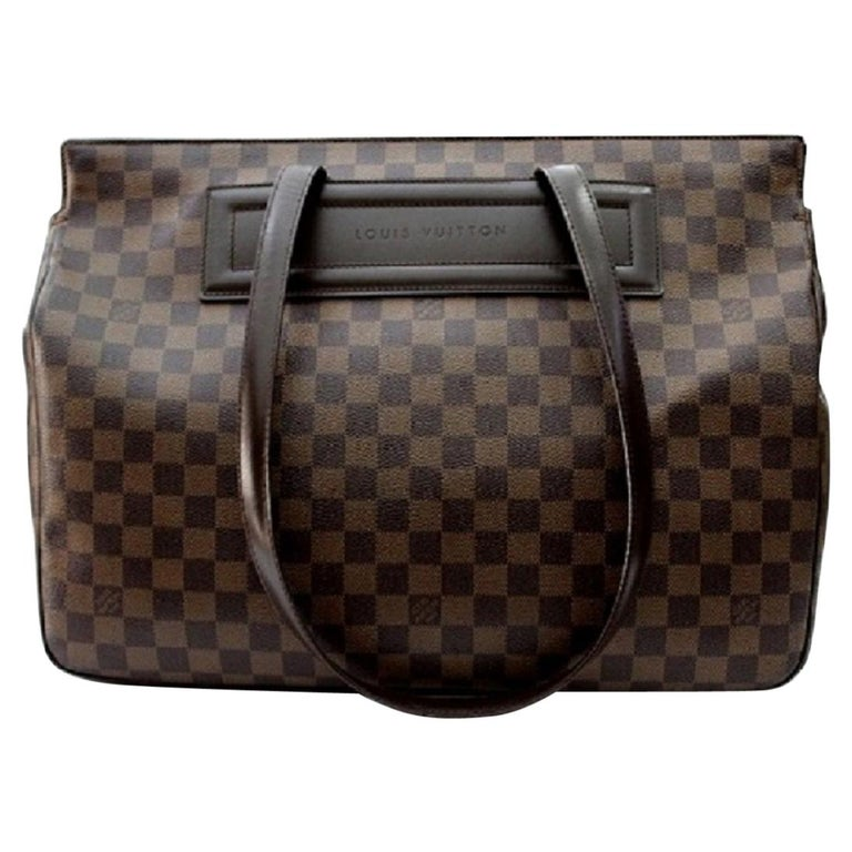 LOUIS VUITTON Damier Canvas Parioli Tote Bag at 1stdibs 4cbb3b72d52f3