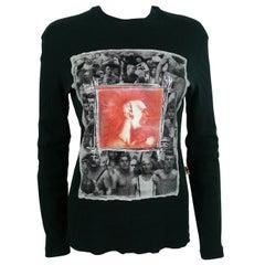 Jean Paul Gaultier Vintage Gay Print Top