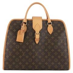 Louis Vuitton Rivoli Soft Monogram Canvas Briefcase