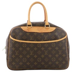 Louis Vuitton Deauville Monogram Canvas Handbag