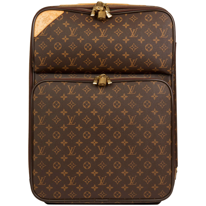 60ceb1891012 Louis Vuitton Brown Monogram Coated Canvas Pégase Légère 55 Business Case