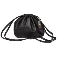 1998 Chanel Black Lambskin Timeless Bucket Bag