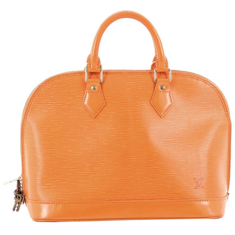 5b3c298645d3 Louis Vuitton Vintage Alma Handbag Epi Leather PM at 1stdibs