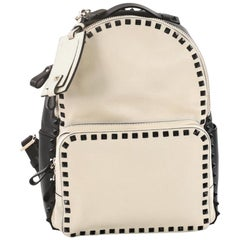 Valentino Rockstud Backpack Leather Medium