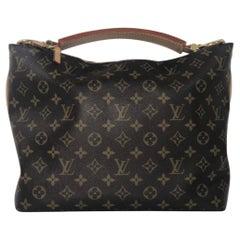 Louis Vuitton Monogram Sully PM Hobo Shoulder Handbag