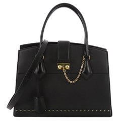 Louis Vuitton Cour Marly Leather with Studded Detail MM