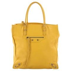 Balenciaga Papier A5 Classic Studs Handbag Leather Medium