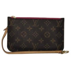 Louis Vuitton Monogram Neverfull MM Pouch Only Wristlet