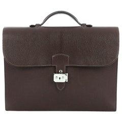 Hermes Sac a Depeche Handbag Clemence 34