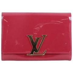 Louis Vuitton Louise Clutch Patent MM