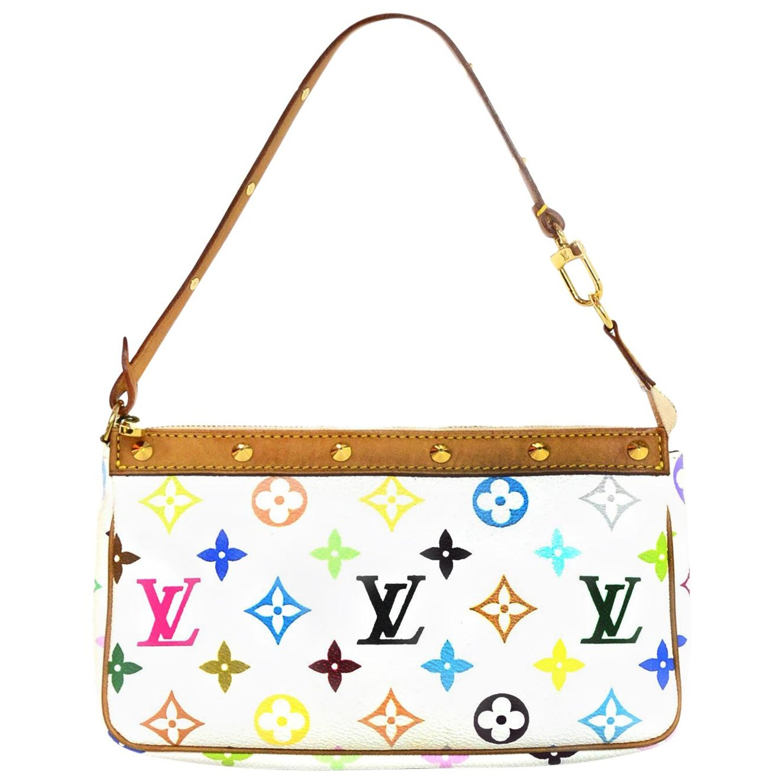 b7fc2b0ef3cd6 White Multicolor Louis Vuitton Handbags - Image Of Handbags Imageorp.co