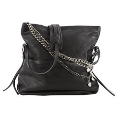 Jimmy Choo Biker Crossbody Bag Leather Small