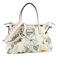 Gucci Convertible Zip Tote Flora Canvas Medium