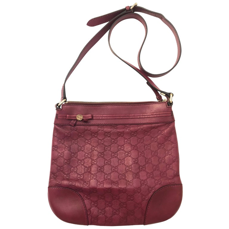 Gucci Guccissima Monogram Crossbody Bag