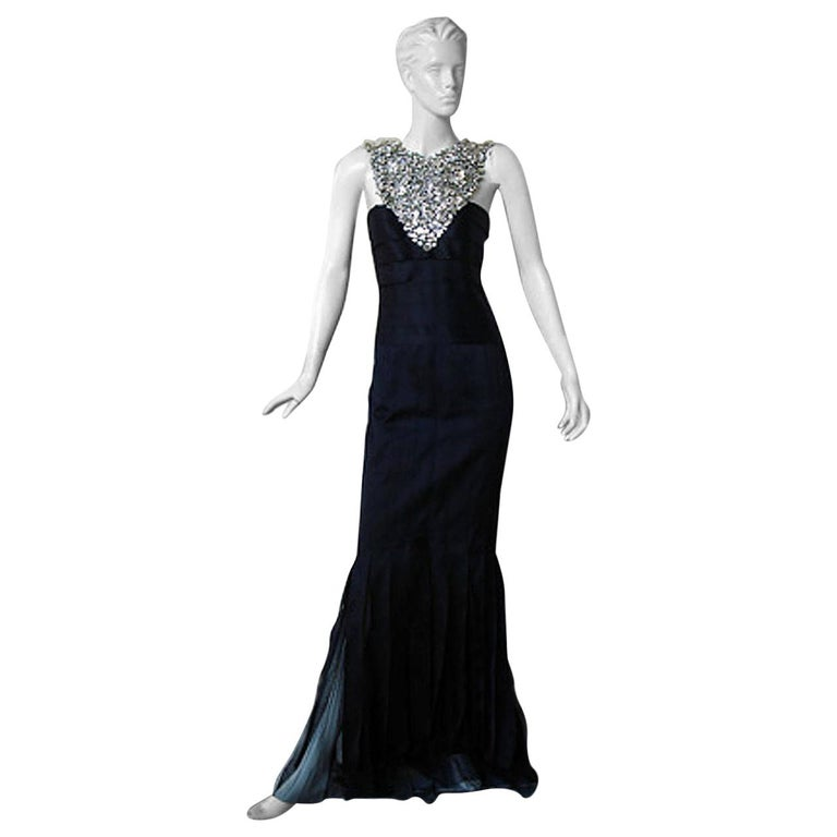 Runway finale jeweled Car Wash evening gown, 2006, offered by Marilyn Glass